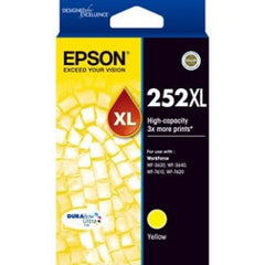 EPSON 252XL High Capacity DURABrite Ultra Yellow ink