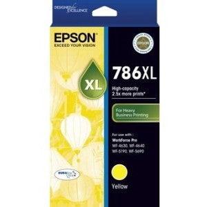 EPSON 786XL High Capacity DURABrite Ultra Yellow ink
