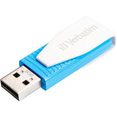 Verbatim Store'n'Go USB Drive Swivel 8GB - Blue