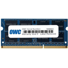 OTHER WORLD COMPUTING 16GB (8GBx2) PC3-12800 DDR3-1600 SODIMM