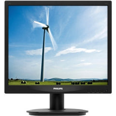 PHILIPS 17in Standard Black LED -VGA/DVI/5:4