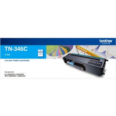 BROTHER TN346C 3500 pages Cyan Toner