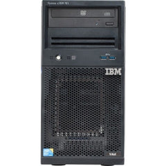 LENOVO x3100 M5 Xeon 4C E3-1231v3 80W 3.4GHz/1600MHz/8MB 1x4GB O/Bay HS 3.5in SAS/SATA SR H1110 Multi-Burner 430W p/s Tower