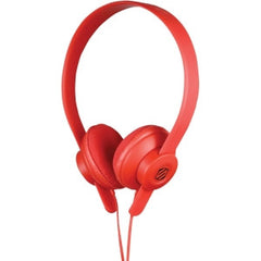 Scosche Industries Inc ON EAR HEADPHONE RED