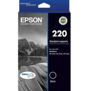 EPSON 220 (C13T293192) Std capacity black ink cartridge