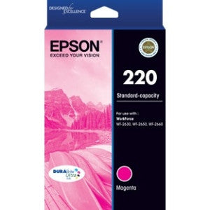 EPSON 220 (C13T293392) Std capacity Magenta ink cartridge