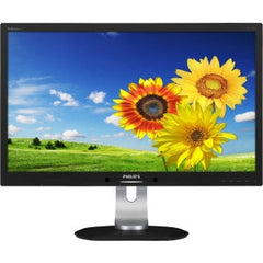 PHILIPS 23in IPS Docking monitor single USB 3.0 cable attach HAS 130mm Psensor