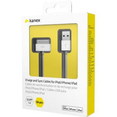 Kanex USB Charge Sync Cable (30 pin) 1m White