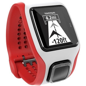TOMTOM Runner Cardio GPS watch - White/Red