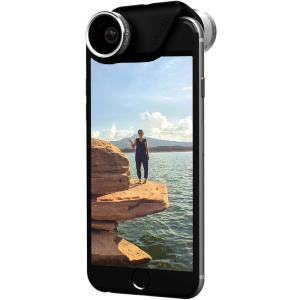 OLLOCLIP 4 -in-1 Lens + Case Black iPhone 6 Plus