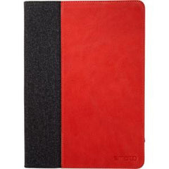 Maroo iPad Air 2 Red PU Leather w/Wool Felt