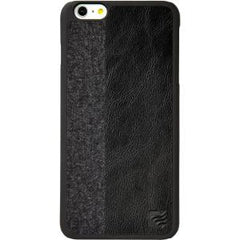 Maroo iPhone 6 Snap On Case - Black PU Leather