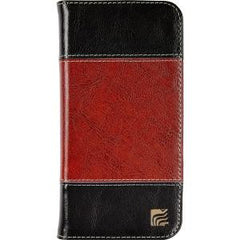 Maroo iPhone 6+ Black/Brown Leather Wallet