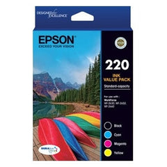 EPSON 220 (C13T293692) Std capacity ink Value Pack ink