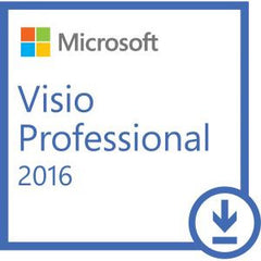 MICROSOFT VISIO PRO 2016 (ESD DOWNLOAD) - FOR WINDOWS DEVICES - ALL LANGUAGES - PRODUCT KEY ISSUED BY EMAIL