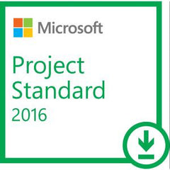 MICROSOFT PROJECT 2016 (ESD DOWNLOAD) - FOR WINDOWS DEVICES - ALL LANGUAGES - PRODUCT KEY ISSUED BY EMAIL