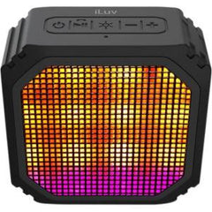 iLuv AUDMINI PARTY LED PORTABLE BLUETOOTH SPEAKER - BLACK
