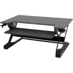 ERGOTRON WORKFIT TL BLACK SIT STAND TABLETOP