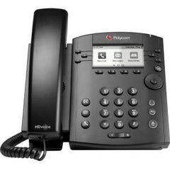 POLYCOM VVX 301 6-line Desktop Phone HD no p/s