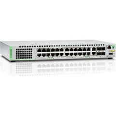 ALLIED TELESIS 24-port 10/100/1000T stackable Swt with