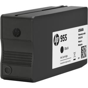 HP 955 BLACK ORIGINAL INK CARTRIDGE