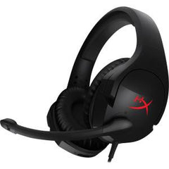 KINGSTON HYPERX CLOUD STINGER GAMING HEADSET 90-DEGREE ROTATING EAR CUPS 1.3M HEADSET CABLE + 1.7M EXTENSION Y-CABLE 3.5MM PLUG 4POLE+EXTENSION CABLE 3.5MM STEREO AND MIC PLUGS