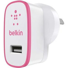 BELKIN BOOST#UP 2.4A HOME CHARGER PINK