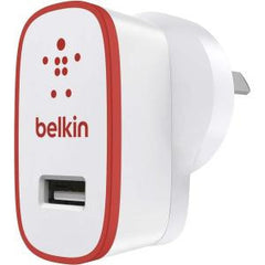 BELKIN BOOST#UP 2.4A HOME CHARGER RED