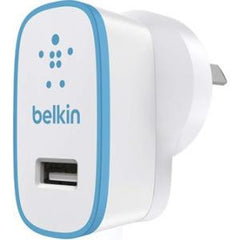 BELKIN HOME CHARGER 2.4A BLUE