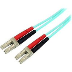 STARTECH 3m Aqua MM 50 LC to LC Fiber Patch Cable