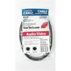 STARTECH 3M TOSLINK DIGITAL SPDIF AUDIO CABLE