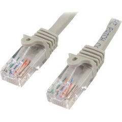 STARTECH 1m Gray Snagless UTP Cat5e Patch Cable
