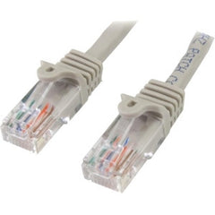 STARTECH 3m Gray Snagless UTP Cat5e Patch Cable