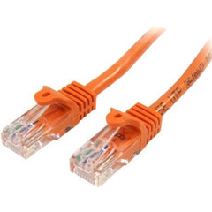 STARTECH 3m Orange Snagless UTP Cat5e Patch Cable