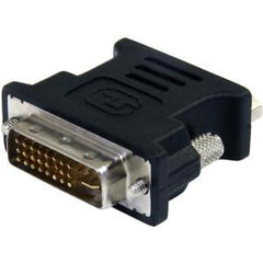 STARTECH DVI to VGA Cable Adapter - Black - M/F - DVI-I to VGA Converter Adapter