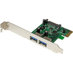 STARTECH 2 Port PCIe USB 3.0 Card Adapter w/ UASP