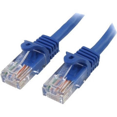STARTECH 1m Blue Snagless UTP Cat5e Patch Cable