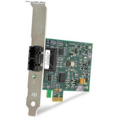 ALLIED TELESIS PCI-EXPRESS FIBER ADAPTER CARD 100MBPS FAST ETHERNET SC-CONNECT IN