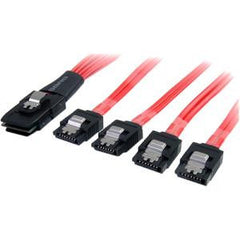 STARTECH SAS Cable SFF-8087 to 4x Latching SATA
