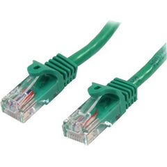 STARTECH 2m Green Snagless UTP Cat5e Patch Cable