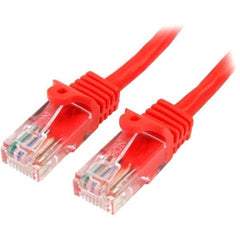 STARTECH 2m Red Snagless UTP Cat5e Patch Cable