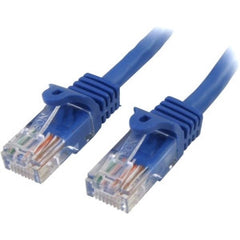 STARTECH 2m Blue Snagless UTP Cat5e Patch Cable