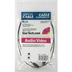 STARTECH TOSLINK OPTICAL DIGITAL AUDIO CABLE