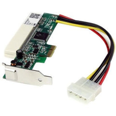 STARTECH PCI Express to PCI Adapter Card - PCIe to PCI Converter Adapter with Low Profile / Half-Height Bracket