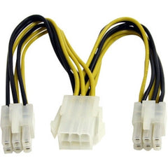 STARTECH 6in PCIe Power Splitter Cable