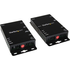 STARTECH HDMI over Cat5 Video Extender with RS232 and IR Control - 100m (330 ft) -HDMI to Cat5 Extender Kit