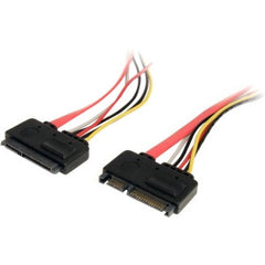 STARTECH 12in 22 Pin SATA Power/Data Ext Cable