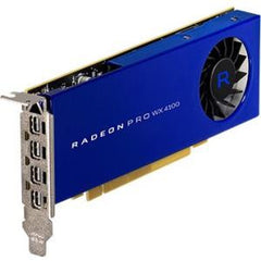AMD Radeon PRO WX 4100 4GB PCIE 3.0 16X 4X M-DP LP RETAIL