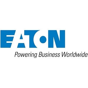 EATON ENCLOSURE 27U 600MM WIDE 1000MM DEEP CURVED FRONT DOOR CASTORS ASSEMBLED