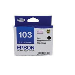 EPSON 103 EXTRA HIGH CAP INK CARTRIDGE BLACK